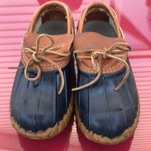 LL Bean duck boots size 8